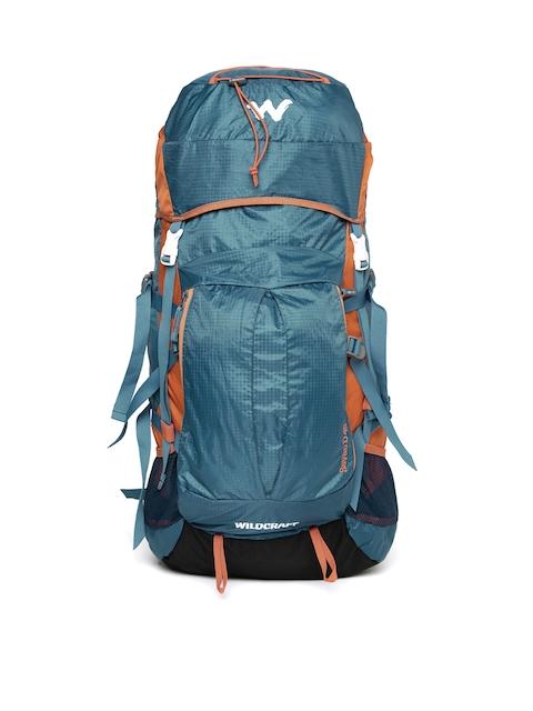 Wildcraft Unisex Blue & Orange Savan D Rucksack