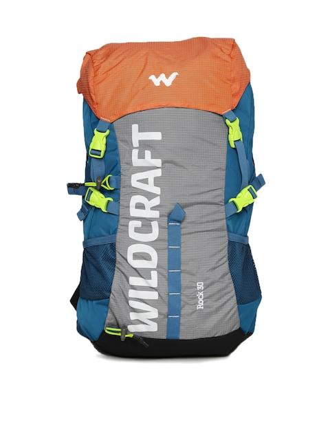 Wildcraft Unisex Blue & Grey Rock Rucksack