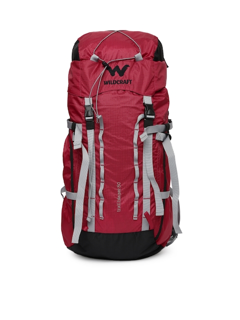 Wildcraft Unisex Red Trailblazer 50 Rucksack