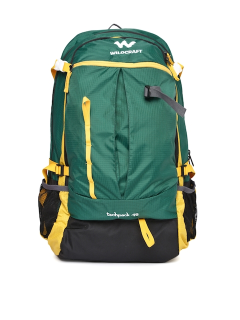 Wildcraft Unisex Green Techpack 45 Rucksack  available at myntra for Rs.3899