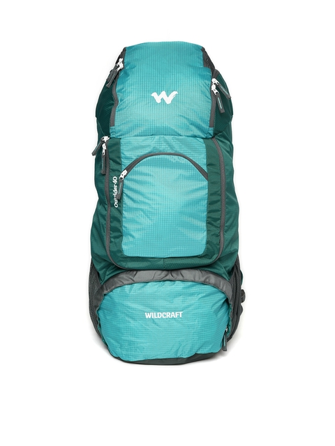 Wildcraft Unisex Teal Green & Blue Colourblocked Outrider 40 Rucksack