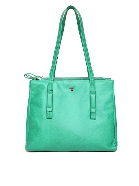 Baggit Green Solid Shoulder Bag