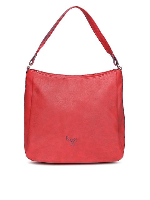 Baggit Red Solid Shoulder Bag