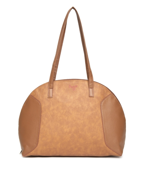 Baggit Brown Solid Shoulder Bag