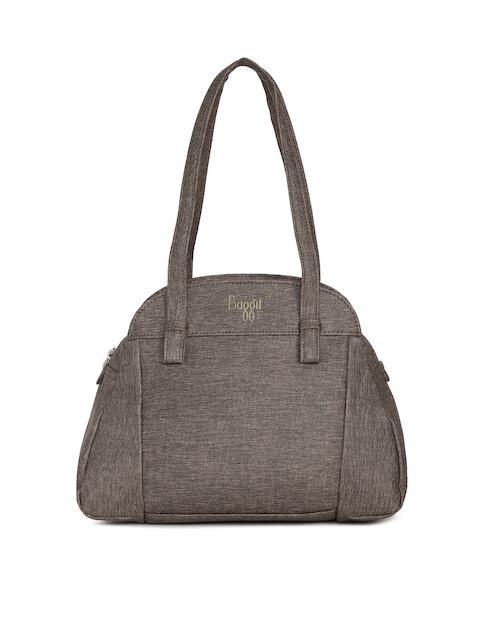 Baggit Taupe Textured Shoulder Bag