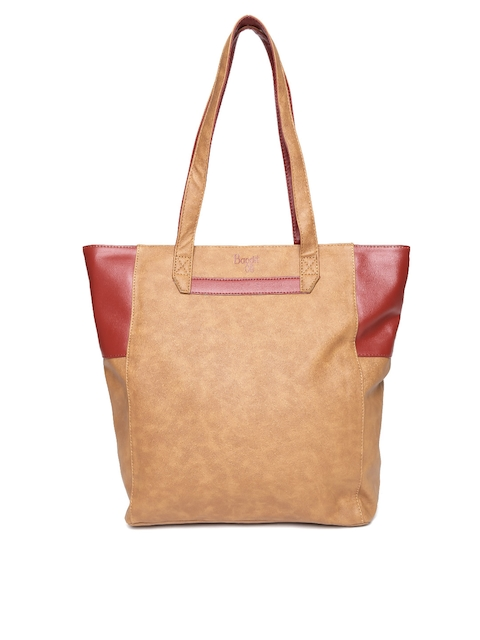 Baggit Brown & Red Shoulder Bag