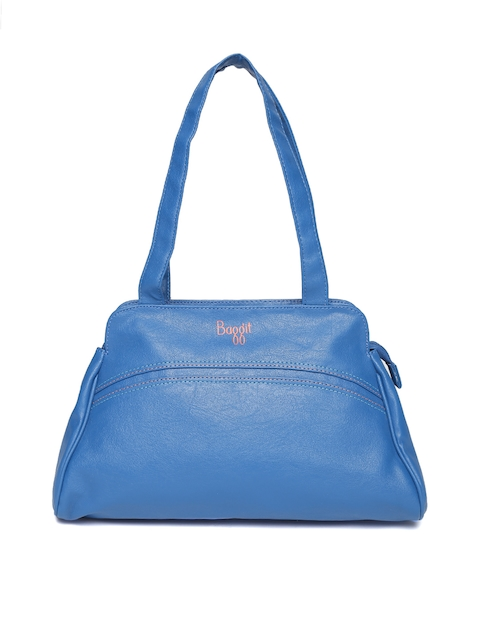 Baggit Blue Solid Shoulder Bag