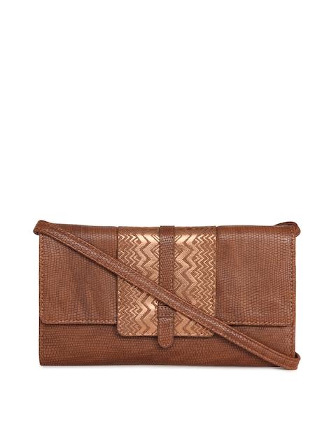Baggit Women Brown Printed Two Fold Wallet
