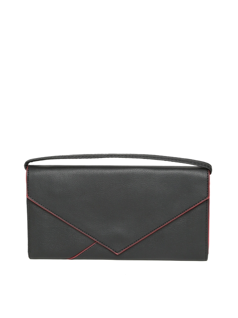 Baggit Women Black Solid Wallet