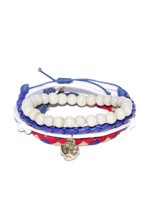 Blueberry Men Set of 4 Bracelets