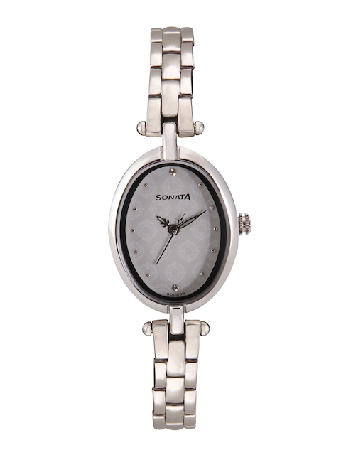 Sonata Wedding Collection Women Steel Analogue Watch 8148SM01