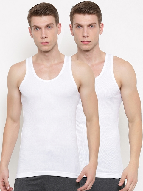 Jockey Pack of 2 Innerwear Vests 8823-0205