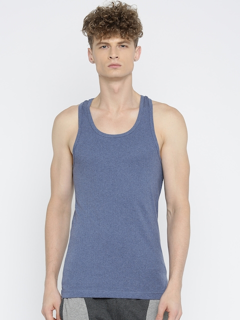 Jockey Men Blue Innerwear Vest 9922-0105-LTDML
