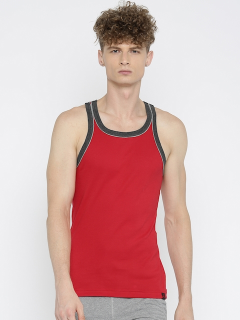 Jockey Men Red Innerwear Vest 9925-0105-TR-CM