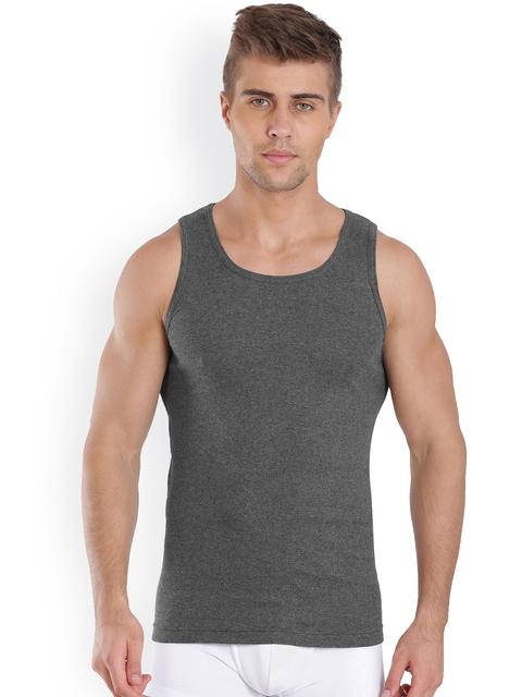 Jockey Charcoal Grey Innerwear Vest FP04-0105