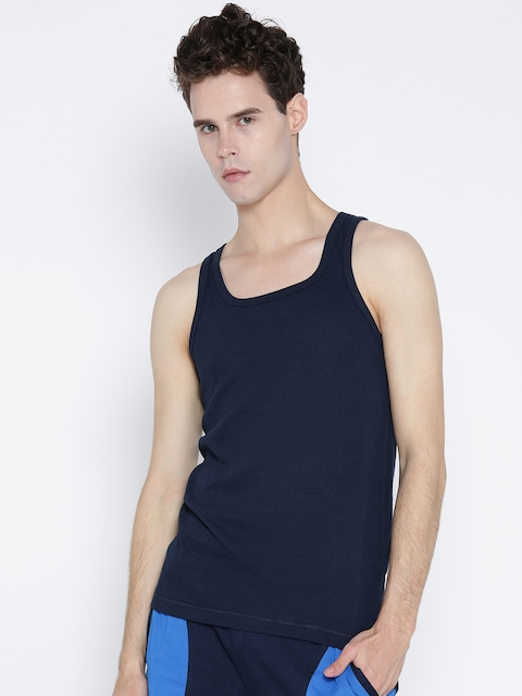 Jockey Navy Innerwear Vest SP28-0105