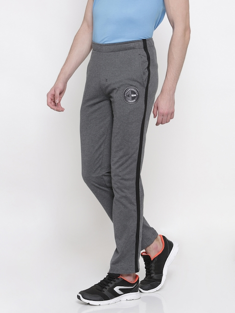 Jockey Charcoal Grey Slim Fit Track Pants