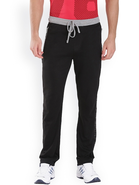 Jockey Men Black Slim Fit Track Pants