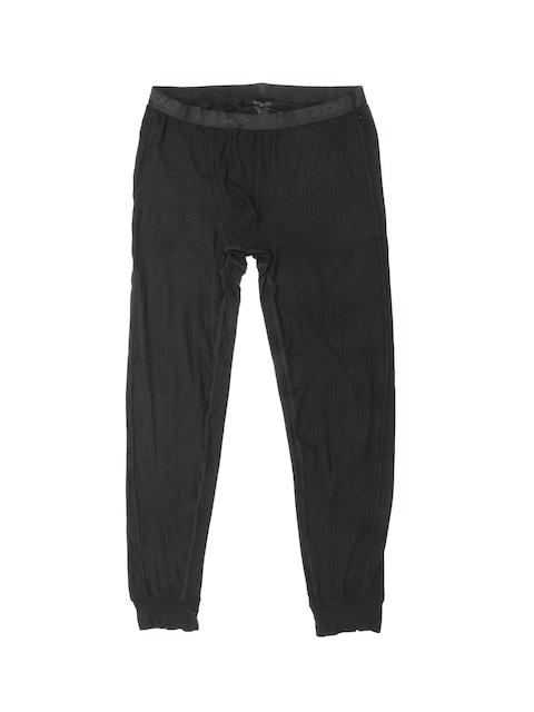 Jockey Men Black Thermal Bottoms 2621-0105