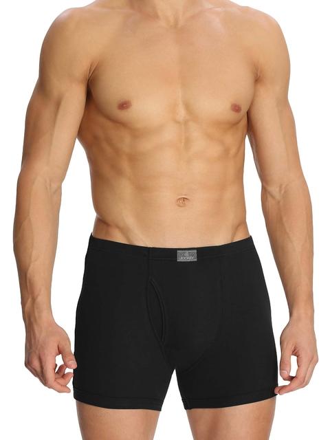 Jockey Men Black Boxer Briefs 8008-0205