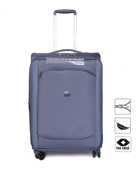 DELSEY Unisex Navy Montmartre Large Trolley Bag