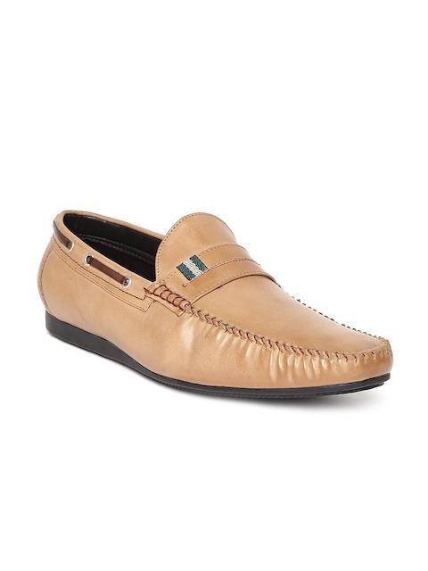 San Frissco Men Tan Brown Loafers