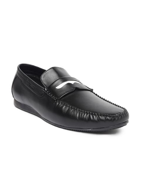 San Frissco Men Black Loafers
