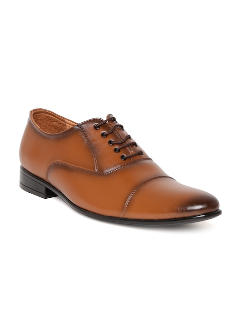 San Frissco Men Tan Brown Oxfords