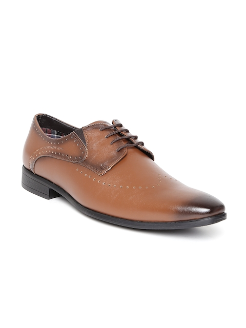 San Frissco Men Tan Brown Derbys