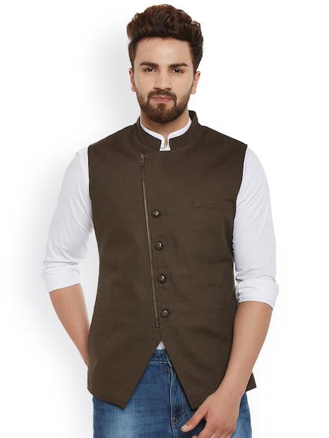 Hypernation Brown Waistcoat