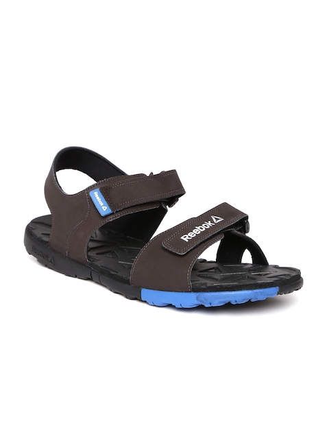 Reebok Men Coffee Brown Ace Striker LP Sports Sandals