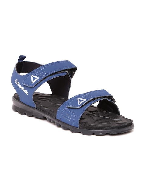 Reebok Men Navy Royal Flex Sports Sandals