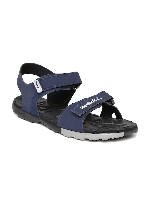 Reebok Men Navy Ace Striker Sports Sandals