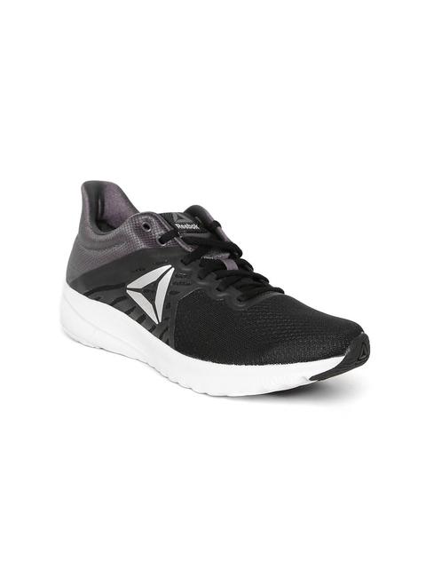 Reebok Women Black & Charcoal Grey OSR Distance 3.0 Running Shoes