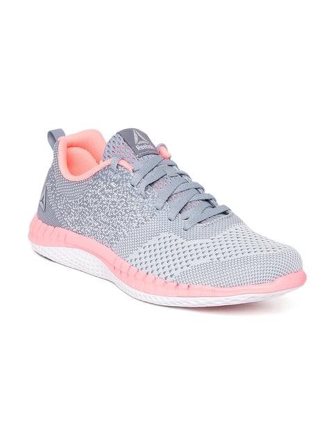 Reebok Girls Grey Prime ULTK Running Shoes