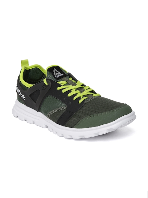 Reebok Men Olive Green Amaze Running Shoes