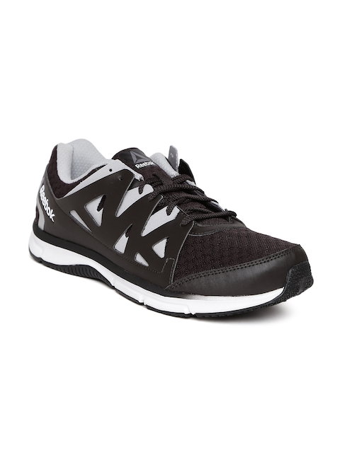 ef6c343f4ee26d Reebok Men Black Supreme 3.O MT Running Shoes