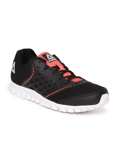 Reebok Boys Black Guide Stride Running Shoes