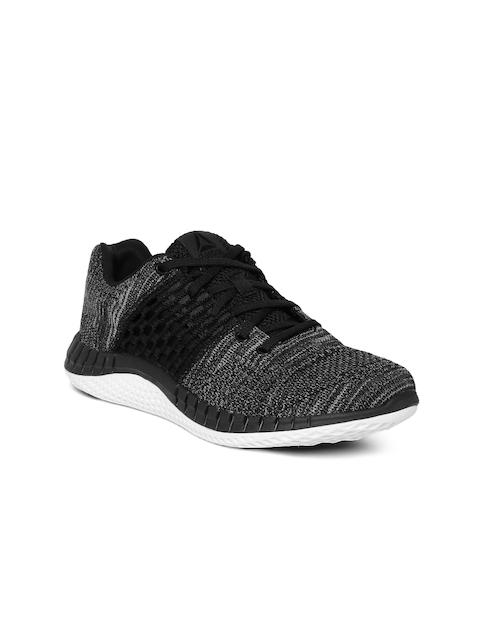 Reebok Women Black ZPrint Clean Running Shoes