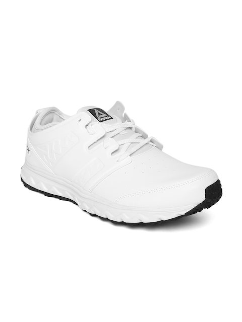 Reebok Men White Optimum Walking Shoes