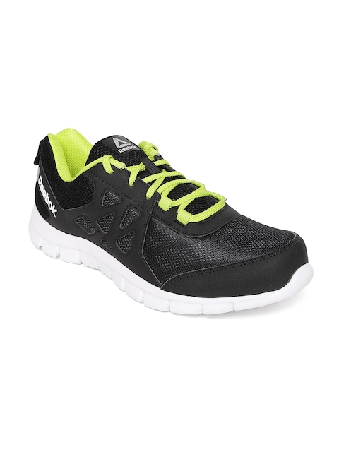 Reebok Men Black Sprint Affect Running Shoes