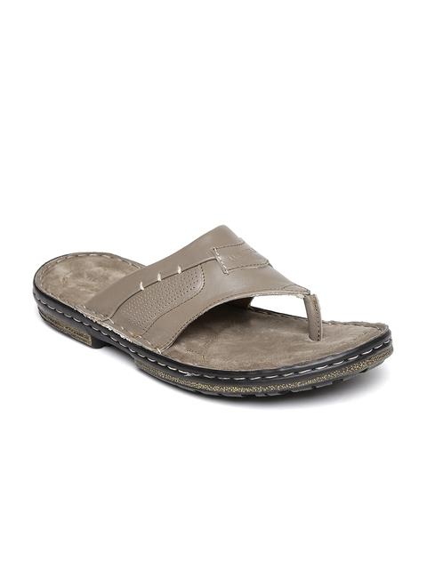Woodland ProPlanet Men Grey Leather Sandals