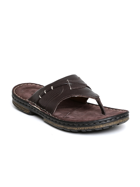 Woodland ProPlanet Men Coffee Brown Leather Sandals