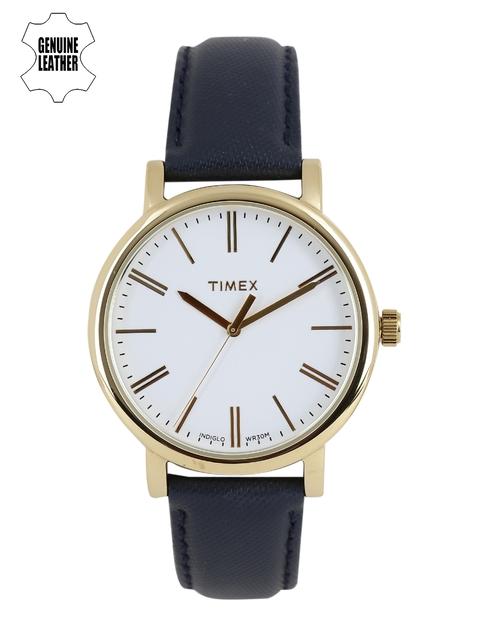Timex Women White Analogue Watch TW2P63400