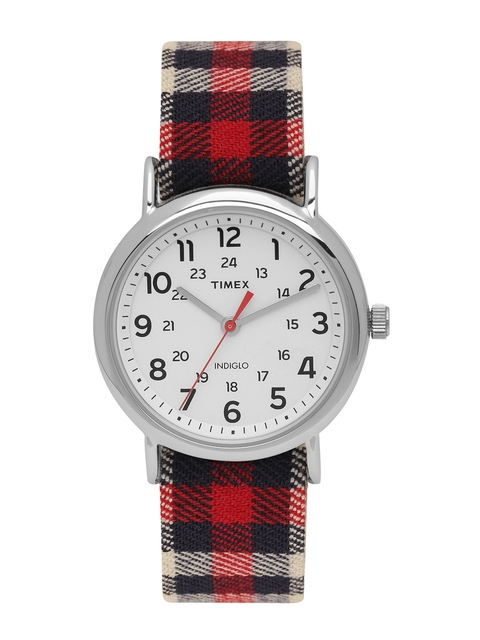 Timex Analog White Dial Unisex Watch, TW2P89600