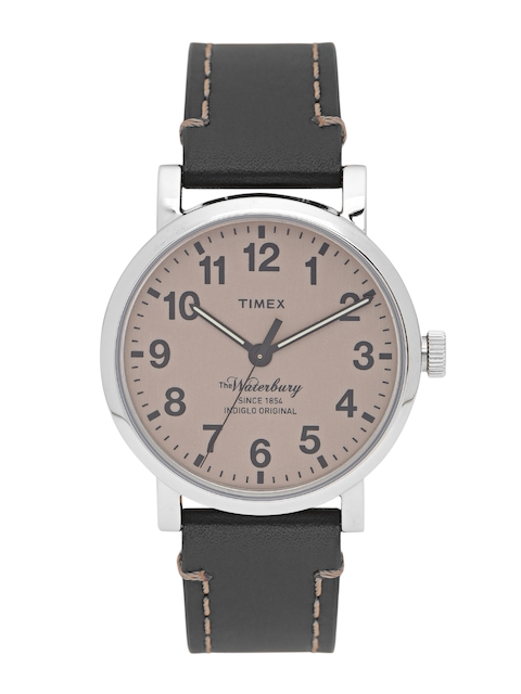 Timex Men Brown Analogue Watch TW2P58800
