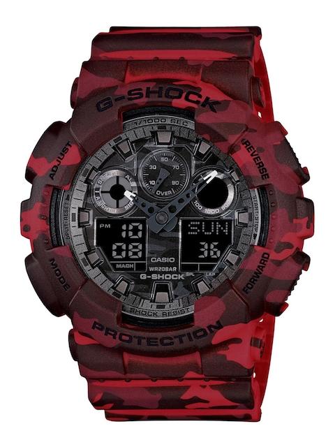 Casio G-Shock GA-100CM-4ADR (G579) Analog Digital Grey Dial Men's Watch (GA-100CM-4ADR (G579))