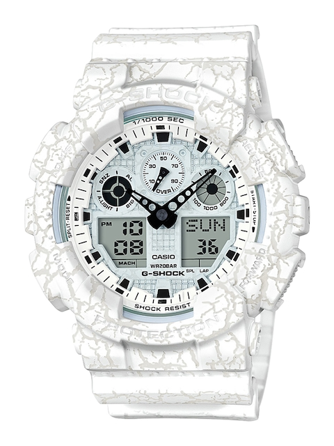 CASIO Women White Analogue and Digital Watch G720