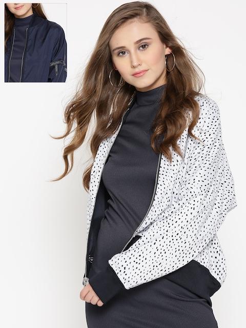 Adidas Originals Navy & White Reversible Track Jacket