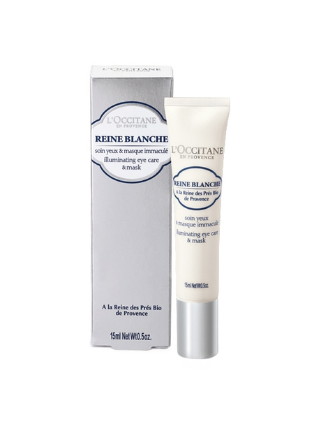LOccitane en Provence Reine Blanche Illuminating Eye Care & Mask 15 ml